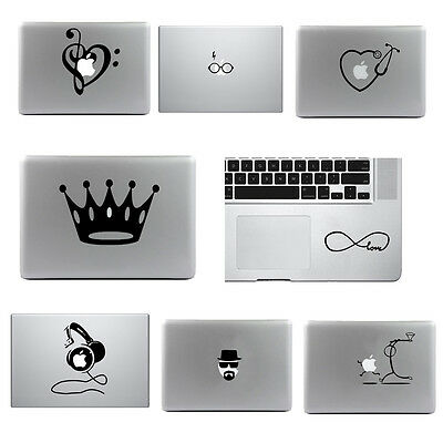 Vinyle Decal Autocollant Sticker Décoration Pour MacBook Air/Pro PC 13'' 15''