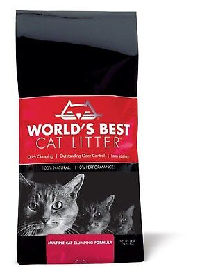 Worlds Best Cat Litter Bag Multiple Cat Clumping Formula 12.7 Kg, 12.7 kg