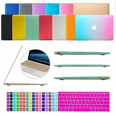 "Rubberized Matte Hard Case Cover Shell for the New MacBook Retina 12"" inch A1534"