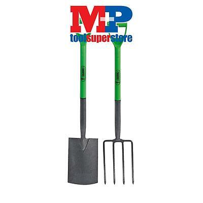 Draper 16566 Easy Find Carbon Steel Garden Fork and Spade Set