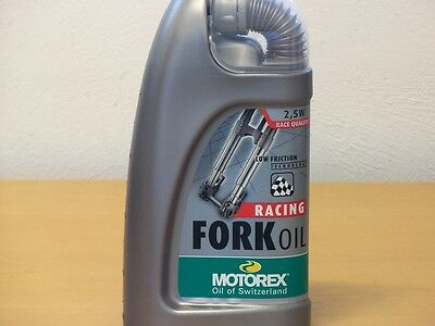 Motorex Racing Fork Oil Gabelöl SAE 2,5W 1 ltr synth Gabelöl ultralight