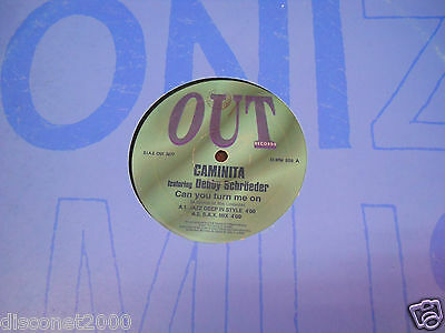 CAMINITA FEAT DEBBIE SCHROEDER - Can You Turn Me On, MX  ITALY 1994 PROG HOUSE