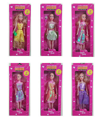 Disney Doll Little Angels Fashion Blonde Hair With Movable Parts Barbie Doll Toy