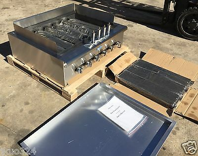 "New! Radiant Char Broiler Gas Grill 36"" 120,000 BTU"