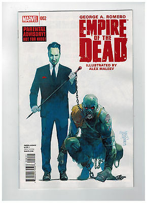 GEORGE ROMERO'S EMPIRE OF THE DEAD: ACT ONE #2 1st Printing / 2014 Marvel Comics