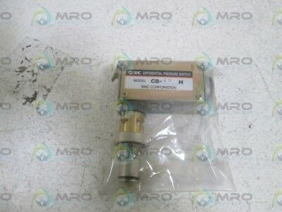 Smc Differential Pressure Switch Cb-49H *new Out Of Box*