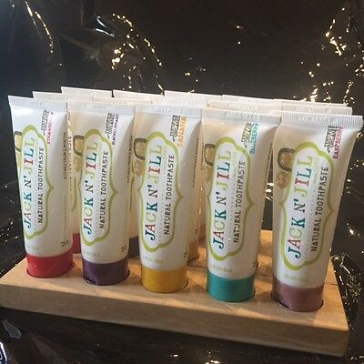 Jack N Jill Natural Toothpaste  Certified Organic Sls Free Various Flavours