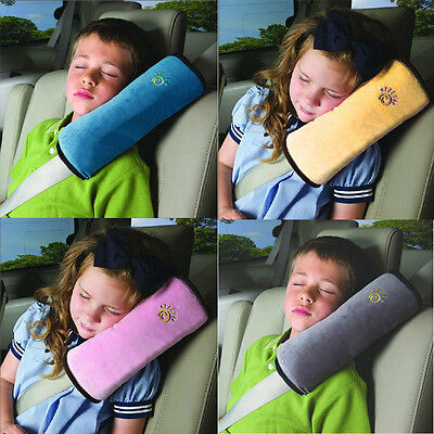 Children Safety Strap Car Seat Belts Pillow Shoulder Protection BG For Boy&Girl