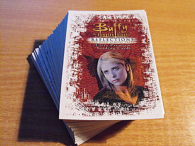 Buffy Reflections Complete Basic Set Of 72 Cards