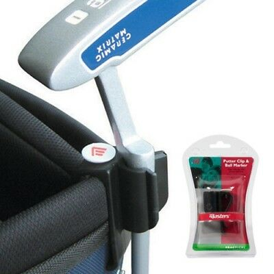 New Masters Golf Putter Clip & Ball Marker  Easily Attach Your Putter to Golf Ba
