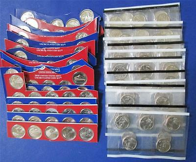 1999 - 2015 P & D  QUARTERS CLAD COMPLETE, STATE, ATB and TERR IN MINT PACKAGING