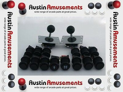 Arcade Pack. 2x Zippy Joysticks and 14 Buttons