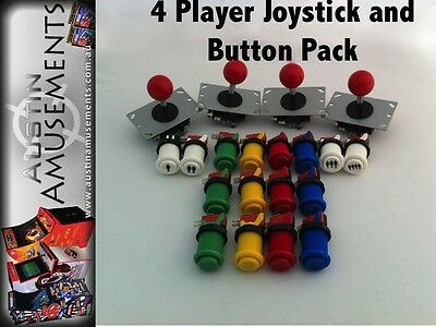 New 4 Player Joystick and button pack