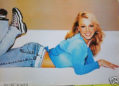 """Britney Spears """"cute Shot, Smiling & Wearing Running Shoes"""" Poster From Asia"""