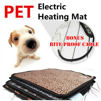 Pet Electric Heated Heat Heater Heating Pad Mat Blanket Bed for Dog Cat Pet New
