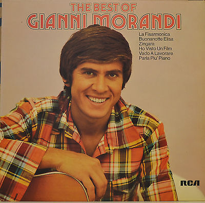"Gianni Morandi - The Best Of Gianni Morandi  - Lp 12""  (S 618)"