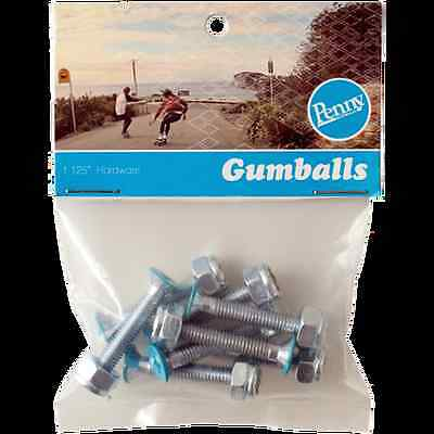 """Penny Gumball 1.125"""" Deck Bolts - Blue"""