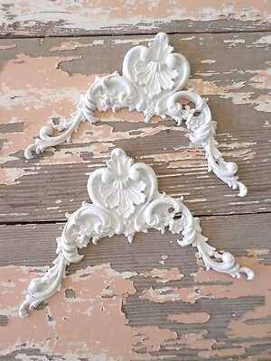 Shabby & Chic  Furniture Appliques Onlays Mouldings Roses Ebay's Largest Dealer