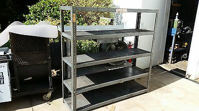 pickup only north georgia Heavy Duty Metal Steel Rack Garage Shelf Shelving Unit