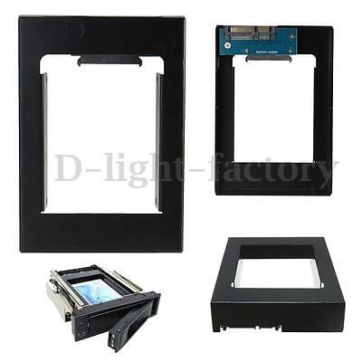 SATA 2.5'' HDD SSD To 3.5'' Drive Bay Adapter Mounting Bracket Converter Tray