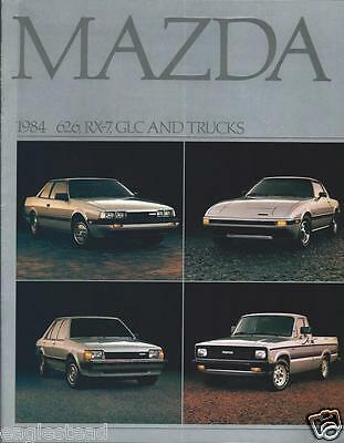 Auto Brochure - Mazda - Product Line Overview - 1984 - Truck (AB593)