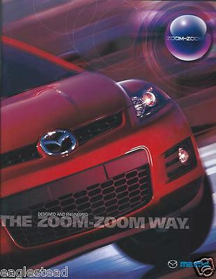 Auto Brochure - Mazda - Product Line Overview - 2008  (AB598)
