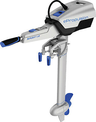 ePropulsion Spirit 1.0 Electric Outboard Long Shaft ★Built in Battery★1000w 3HP