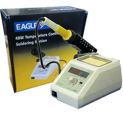 Eagle Temperature Controlled Professional Digital Soldering Iron Station 48w