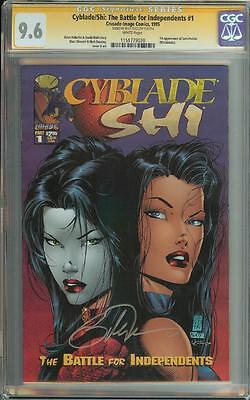 Cyblade Shi The Battle For Independents #1 Ss Cgc 9.6 1St App Witchblade