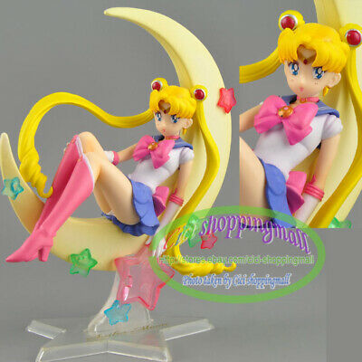 Anime Sailor Moon Tsukino Usagi Toy 15cm  Figure Figurine statue new loose Gift