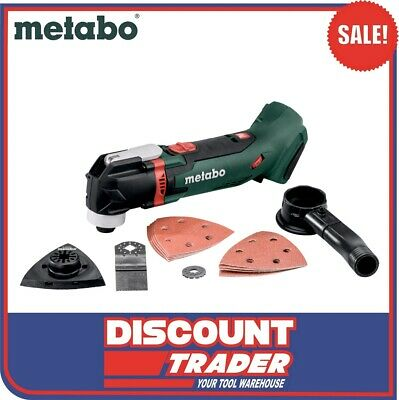 Metabo 18V LTX Lithium-Ion Compact Cordless Multi-Tool Quick Change MT 18 SK