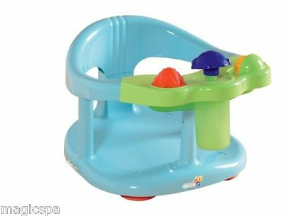 Infant Baby Bath Tub Ring FUN Seat  Keter Color Blue New Fast Shipping From USA