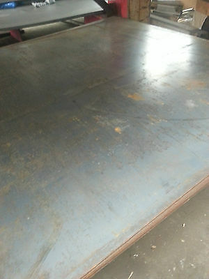 "HOT ROLLED STEEL PLATE / SHEET A-36  1/8"" x 12"" x 12"""