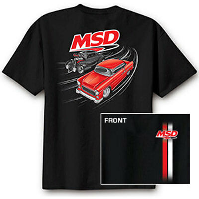MSD Ignition 95126 MSD Racing Street Racer T-Shirt Large