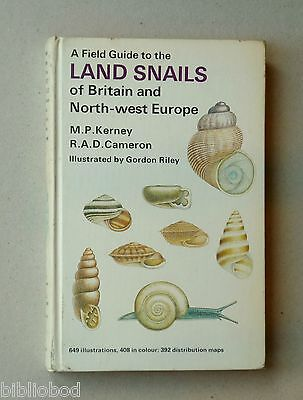Field Guide to the Snails of Britain and North West Europe by Michael Kerney,...
