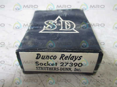 Struthers-Dunn 27390 Relay Socket *new In A Box*
