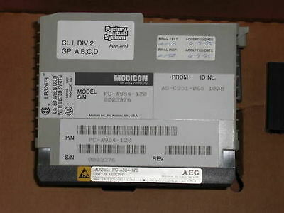 Aeg Modicon Pc-A984-120 Cpu Module *new In Box*