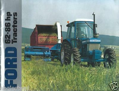 Farm Tractor Brochure - Ford - 5610 et al - 62-86 hp  (F3479)