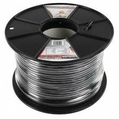 Professional coaxial cable on reel 100 m black [Noir] - Konig  NEUF