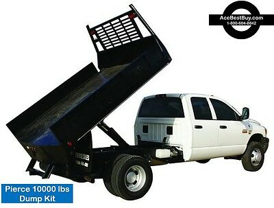 Pickup FLATBED Dump Bed Hoist Kit. Turn into dump truck. 10,000 lbs.Easy install