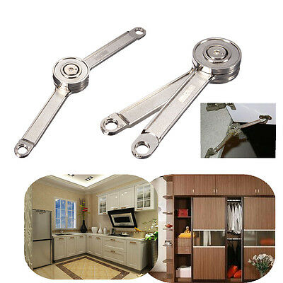 Door Stays Kitchen Cupboard Cabinet Support Toy Box Hinge Lift Up Stay Support