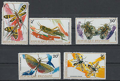 U/a601 - Insects: Rwanda - Fine Selection Of Stamps - Animals - Locustes -Mnh **