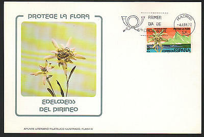U/c254 - Spain: 1978 - Fine Cover - Fdc - Flowers - Flora - Nature - From Madrid