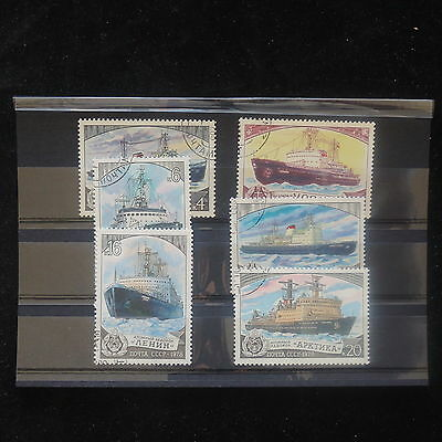 U/d298 - Ships: 1978 - Russia - Fine Selection Of Stamps - Boats - Sea - Used