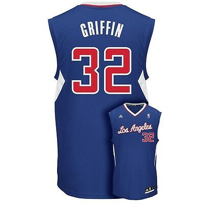 new product 76e35 9a426 ($50) CLIPPERS BLAKE GRIFFIN nba ADIDAS Jersey YOUTH KIDS BOYS (L-LARGE)