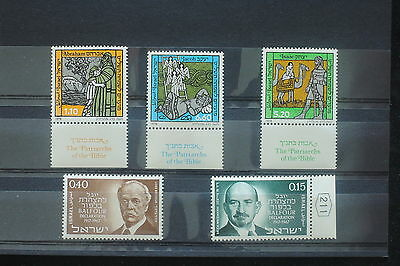 U/d539 - Israel: 1978 - Fine Stamps - Famous People - Bible - Balfour - Mnh **