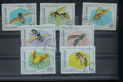 U/d568 - Insects: 1988 - Vietnam - Fine Stamps - Bees - Animals - Used