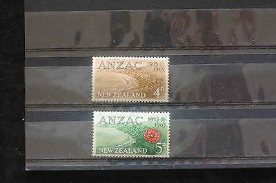 U/d614 - New Zealand: 1965 - Fine Stamps - Anzac - Flowers - Landscapes - Mnh **