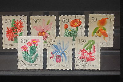 U/d652 - Flowers: 1979 - Hungary - Fine Stamps - Plants - Flora - Nature - Used