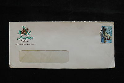 U/e589 - Ships: Antigua - Barbuda - Fine Cover - Sails - Marine Life - Achorage
